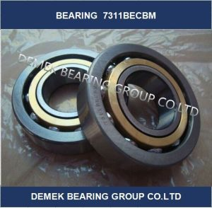 Single Row Angular Contact Ball Bearing 7311 Becbm pictures & photos