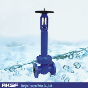 Bellow Sealing Flange Gate Valve pictures & photos