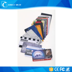 Transparent Clear Cards, Transparent Frosted Cards, Clear PVC Card pictures & photos