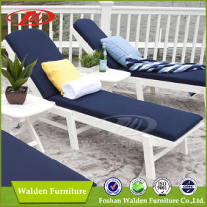 Outdoor Chaise Lounge Chair 100% Polywood Outdoor Furniture in White pictures & photos
