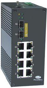 8 Port Gigabit Managed Industrial Poe Switch IDS P510 pictures & photos