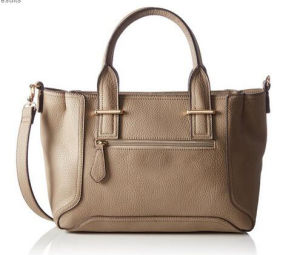 Nice Handle PU Lady′s Handbag (WZX20934) pictures & photos