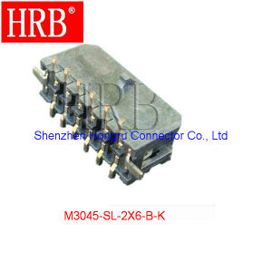 3.0 Dual Row SMT Wire to Board Connector pictures & photos