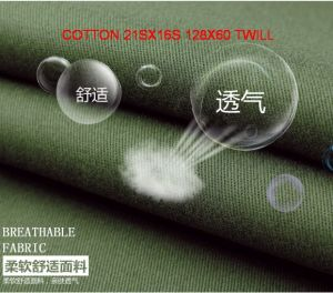 Workwear Garment Fabric Made of Cotton or Polyester Cotton Blended. pictures & photos