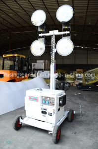 M500 Series Portable Mobile Light Tower with Diesel Generator