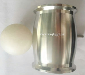 Stainless Steel Sanitary Check Valve Ball Type with Ferrule Both Ends pictures & photos