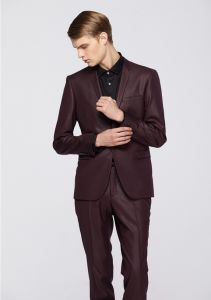 Latest Fabric Made Slim Fit Men Suit pictures & photos