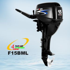 4 Stroke 15HP Outboard Motor / Remote Control / Electric Start / Short Shaft pictures & photos