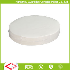Double Sides Silicone Coated Baking Paper Rounds OEM Size Aavailable pictures & photos