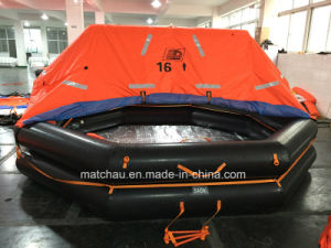 Solas D Type Davit-Launching Inflatable Liferaft pictures & photos