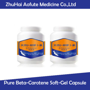 Natural Pure Beta-Carotene Soft-Gel Capsule pictures & photos