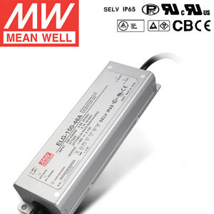 Taiwan Meanwell Waterproof LED Power Supply Elg-150-48A 150W 24-48V 3.13A pictures & photos