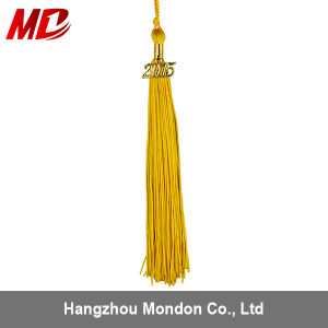 UK Graduation Tassel with Year Charm Gold pictures & photos