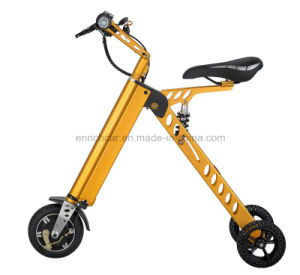 2016 Best Selling Foldable Folding Electric Mini Portable Scooter for Adult pictures & photos