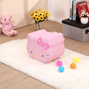 Hello Kitty Baby Upholstered Step Stool Chair (SXBB-311) pictures & photos