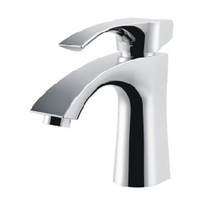 High Quality Brass Basin Mixer Single Handle Lavatory Faucet (Q3035) pictures & photos