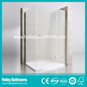 Hinger Door Single Door Selling Simple Shower Cubicle (SE715C) pictures & photos
