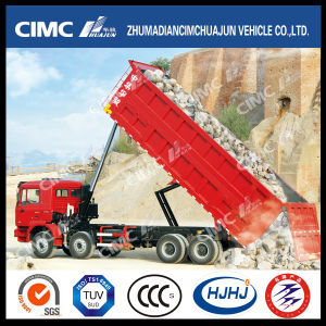 HOWO/JAC/Shacman/Foton/FAW/Iveco/Auman/Beiben 8*4 Front Lifting Dump Truck with Big-Cargo Box pictures & photos