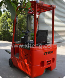 Ltma Three Wheel Electric Forklift 1t 1.5t Electric Forklift pictures & photos