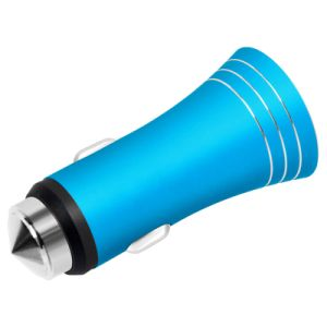QC 2.0 USB Car Charger with Car Safety Hammer pictures & photos