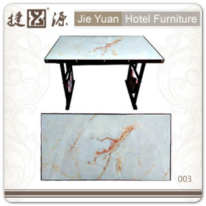 Wholesale Price Banquet Plywood White Restaurant Table (003) pictures & photos