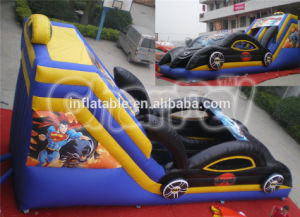 High Quality Inflatable Car Slide for Kids Chsl146 pictures & photos