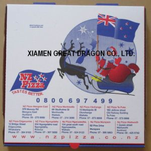 Locking Corners Pizza Box for Stability and Durability (PB160590) pictures & photos