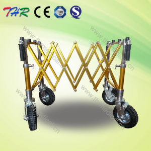 Anodized Aluminum Coffin Trolley Cart pictures & photos