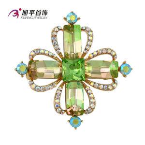 Xuping Fashion Luxury Rhodium Crystals From Swarovski Rhinestone Flower Jewelry Element Brooch - X0421006 pictures & photos