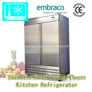 Stainless Steel Kitchen Refrigerator with Two Doors (CFD-2FF) pictures & photos
