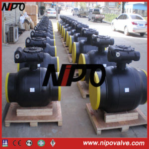Forged Steel Turnnion Type Fully Welded Ball Valve pictures & photos