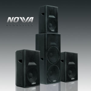 "Good Quality Dual 15"" Full Range Stage Professional Loudspeaker (CD215) pictures & photos"