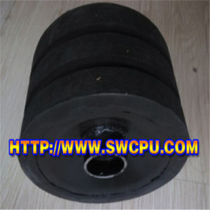 SPD Impact Roller, Impact Idler, Rubber Roller for Belt Conveyor pictures & photos