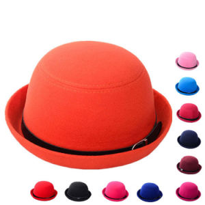 Lady Fashion Imitation Wool Winter Top Leisure Bucket Hat (YKY3229) pictures & photos