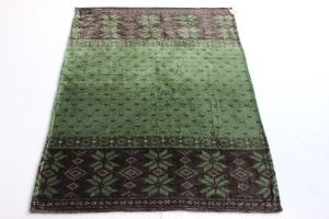 Flannel Fleece Blanket- (green&brown) pictures & photos