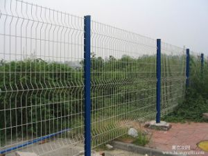 High Quality Wire Mesh Fence Street Metal Fence China Anping Supplier Factory pictures & photos