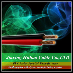 High Quality 2X18AWG Spt-1 Speaker Cable for Lamp pictures & photos