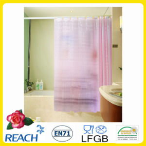 PVC Shower Curtain /Plastic Bathroom Curtain pictures & photos
