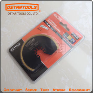 Segment Oscillating Saw Blade with Titanium Coated Tooth for Metal and Wood Cutting pictures & photos