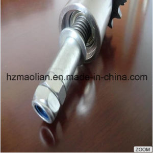Double Sprocket Aluminium Accumulating Conveyor Roller pictures & photos