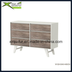 Home Living Modern Drawer Chest with 6 Drawers