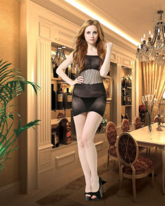 Fishnet Baby Doll with Hollow out Design 8842 pictures & photos