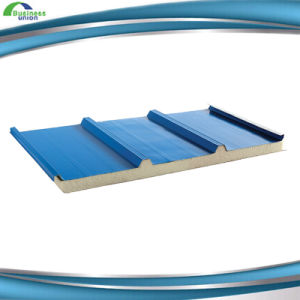 40mm PU Foam Polyurethane Sandwich Panel for Roof pictures & photos