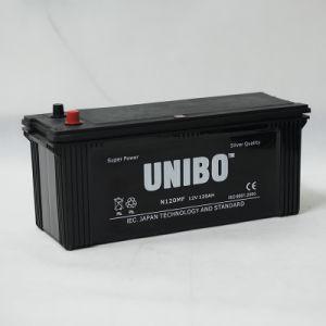 High Performance JIS Standard Maintenance Free N120 12V120ah Car Battery pictures & photos