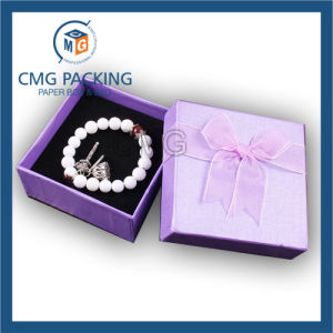 Rigid Cardboard Lid and Base Paper Box for Jewelry (CMG-015) pictures & photos