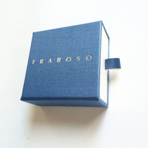 Drawer Styled Cardboard Jewelry Box for OEM Order pictures & photos