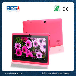 7 Inch Dual Core 1024*600 WiFi Bluetooth Q88 Tablet PC with HDMI