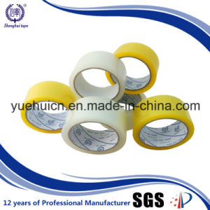 Offer Printed Beautiful Logo on Yellowish OPP Tape pictures & photos