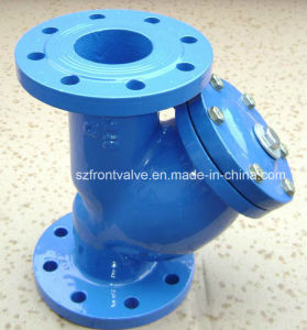 Cast Iron/Ductile Iron Flanged End Y-Strainer pictures & photos