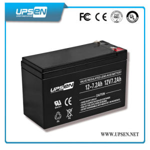 12V 7.2ah Deep Cycle Gel Battery with Long Life pictures & photos